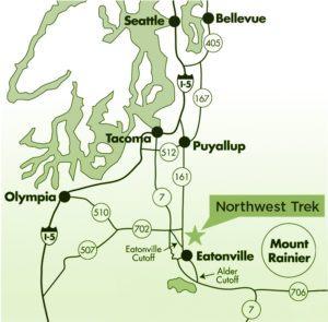 Trek region map